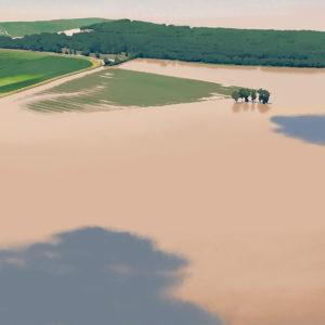 Aerial Flood Study 1